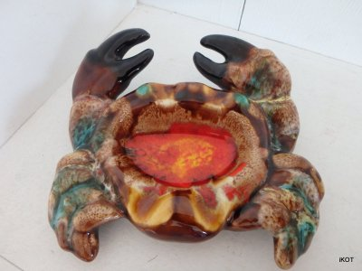Vallauris Small tray Crab