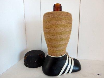 декоративная Бутылка-контейнер для ликера Футбол
