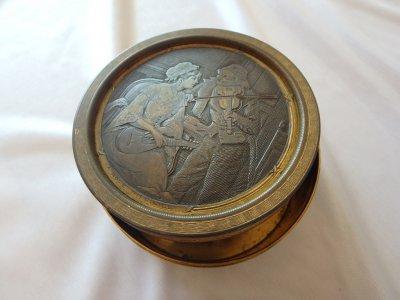 "ewelry box in ornament Guilloche ""Difficult Note"""