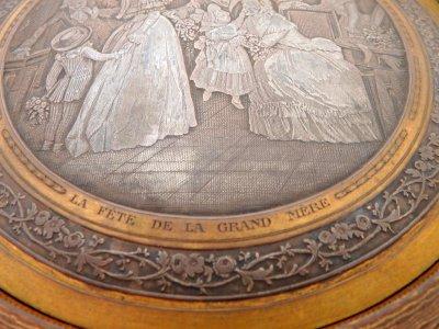 Шкатулка в орнаменте Гильош Дебют франция