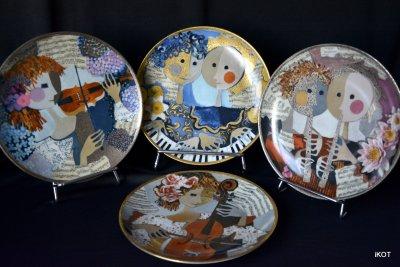 """Hutschenreuther. Plates """"Music"""""""