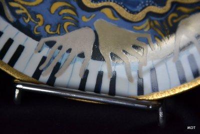 Тарелка N 6283А «Соната для четырех рук» «Sonatine zu vier Händen»