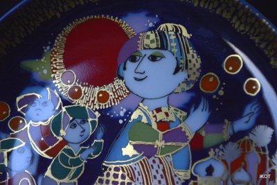 "Rosenthal. Plates ""The Magic Lamp of Aladdin"""