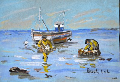"Fanch Lel ""Fishing sardines"""