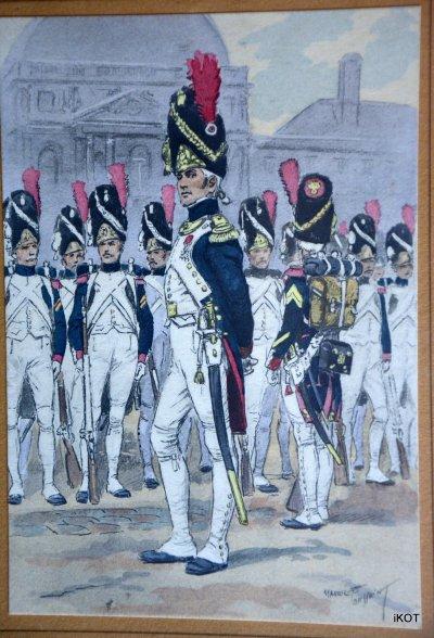М.Toussaint Армейские сюжеты 11 Гравюр