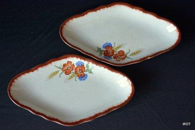 "Porcelain trays  ""Poppy"""
