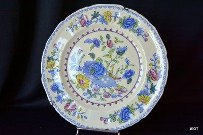 Mason`s. декоративная тарелка «Улитка в цветах»
