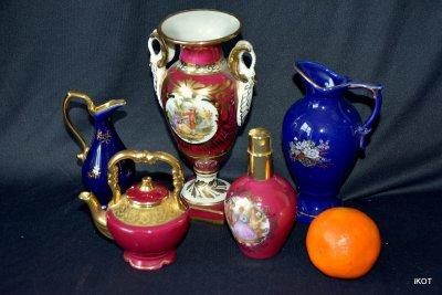 Limoges Лиможский фарфор Витринная посуда