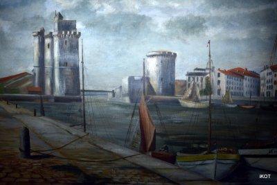 Картина «Башни Ля Рошель»