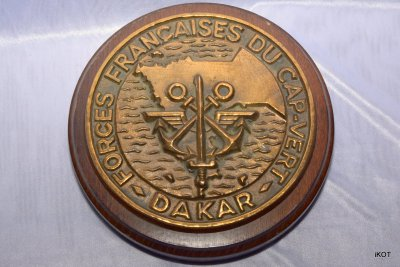 "Tag French navy ship ""Cap Vert - Dakar"""