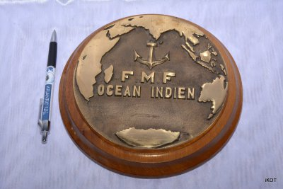 Tag French navy boat FMF Indian Ocean