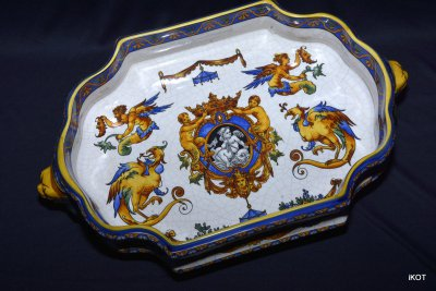 "Decorative bowl ""Renaissance"""