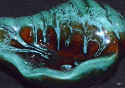 "Vallauris. Small tray ""Aquamarine"""