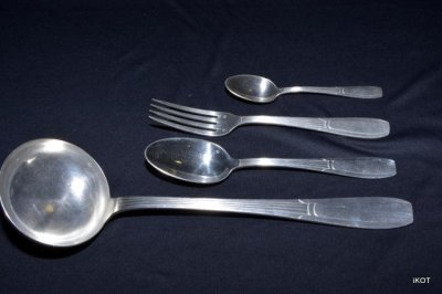 "Silverware set of 37 ""ArtDeco"""