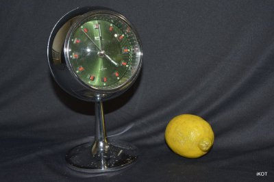 "Vintage table clock ""Fashion"" Japan"