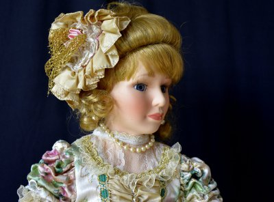 "Doll "" Mademoiselle with Reticule"""