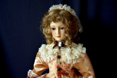 "Doll "" Mademoiselle with the Umbrella"""