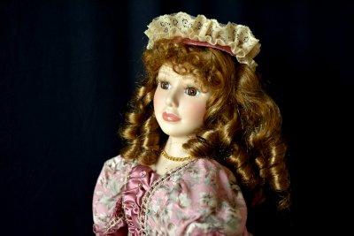 """Кукла """"Дева в Шляпке"""""""