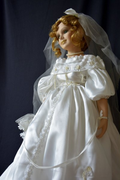 "Wedding Doll "" Charlotte"""