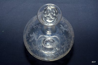 French Antique decanter