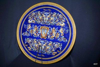 Gien Декоративная тарелка Купидон