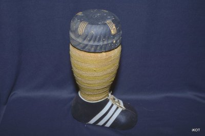 "vintage Bottle-container for liquor ""Football"""
