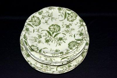 Gien Enoch Wedgwood Набор из 9 тарелок «Цветочный сон»