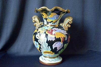"""Cerart Monaco. Vase """"Gold fish"""""""