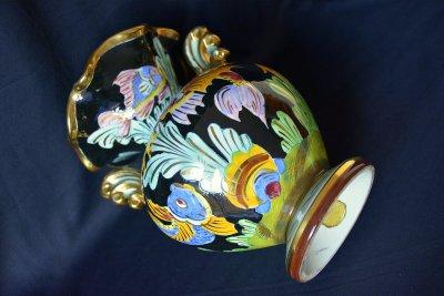 Cerart Monaco Vase Gold fish