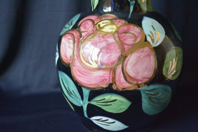 "Vallauris. Vase ""Bright Lady"""