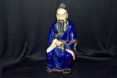 Статуэтка «Китаец с плетью»