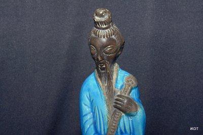 Статуэтка «Китаец в голубом»