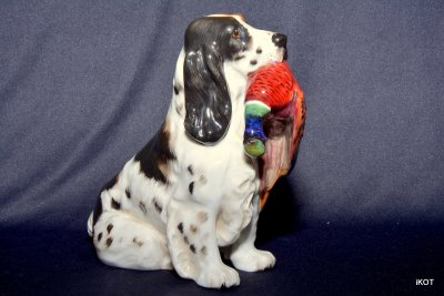 "Royal Doulton ""Spaniel with pheasant"""